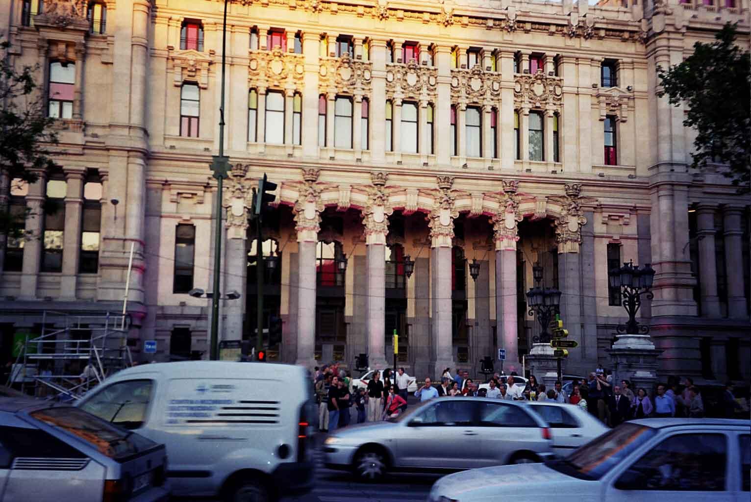 Madrid engalanado Casa del correo